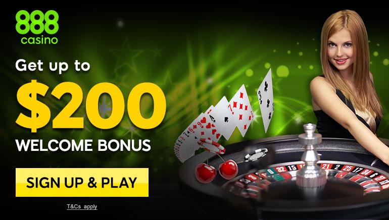 เกมคาสิโนออนไลน์และโบนัสต้อนรับสำหรับผู้เล่นที่ Will Love 888 Casino