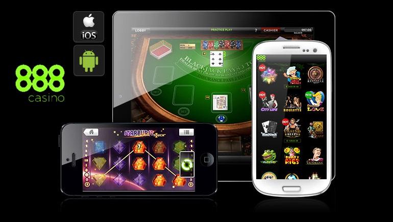 เกมของ 888 Mobile Casino เปิดให้บริการแล้ว