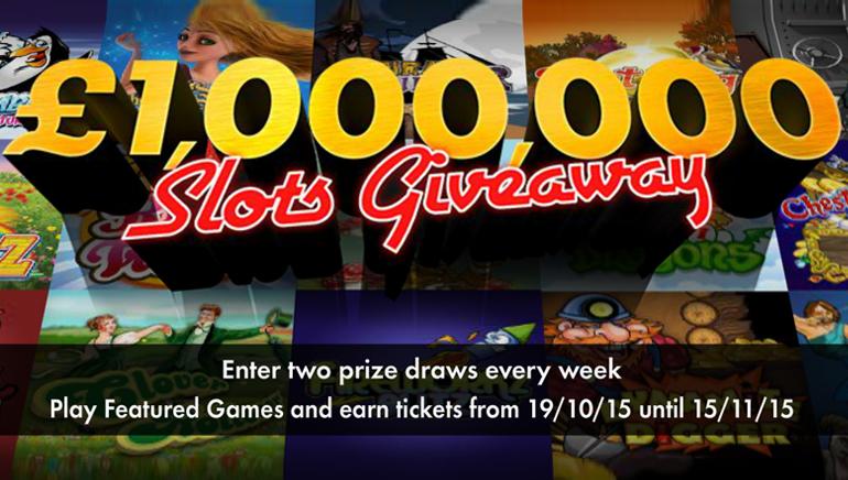 รับโชคโดยเข้าร่วมในรายกายแจกฟรี bet365 Casino £1,000,000 / $1,500,000